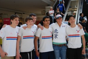 Beijing Gold Medalist Anna Goodale with MJRC Rowers
