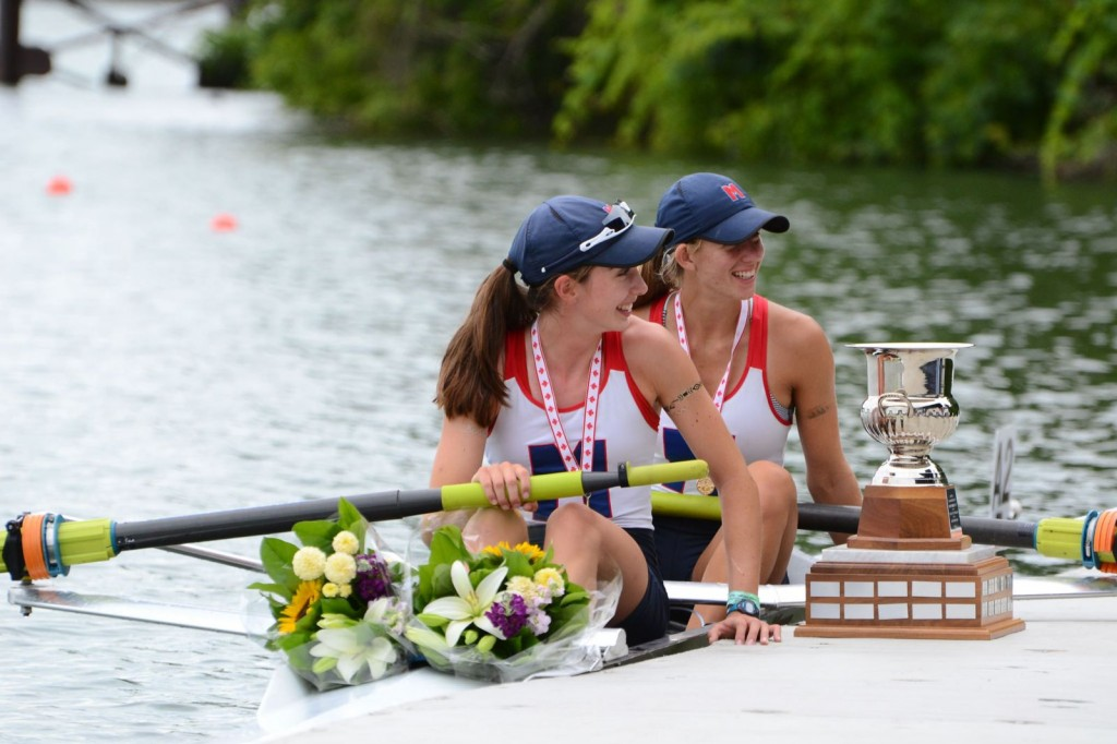 Kate Hickey Rena White 2015 Canadian Henley